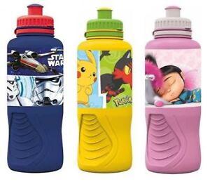 Ergonomic Character Sports Bottle 400ml