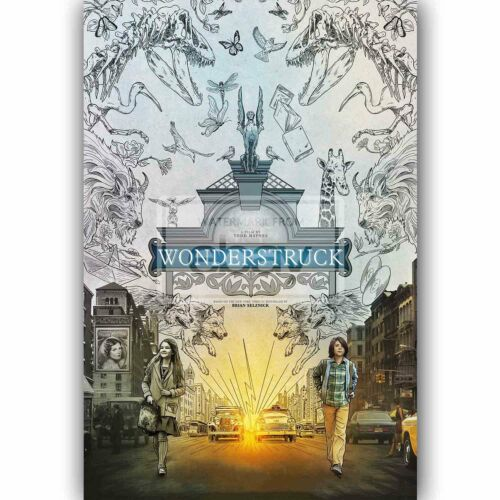 New Wonderstruck Silk Poster Custom Wall Decor
