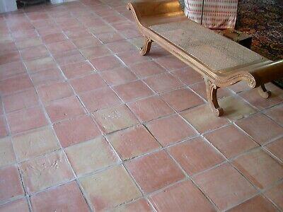 1m² Cotto Bodenplatten natur 10x10cm historischer Baustoff Handarbeit Terrakotta