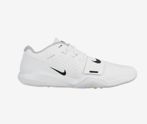 NEW  Nike Alpha Menace Turf Low AQ8129-101 White Black Wolf Grey shoes c1