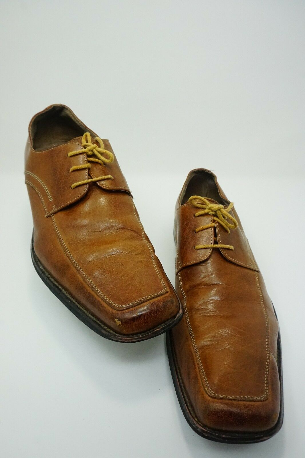 Men's Dress Fratelli Select Brown Leather Dress Men's Shoes Size 10.5 64ba17