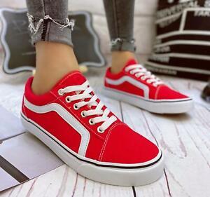 Scarpe da Ginnastica Donna Sneakers Sportive in stile Vans old ...