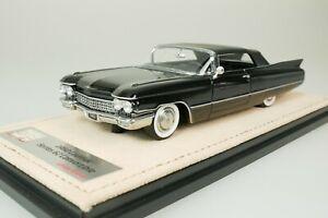Cadillac Série 62 Convertible 1960 Noir #059 De Seulement 109 1/43 Stamp