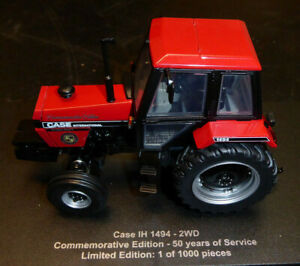 Universal-Hobbies-Tractor-Case-1494-2WD-1983-1-32nd-COMMEMORATIVE-Model
