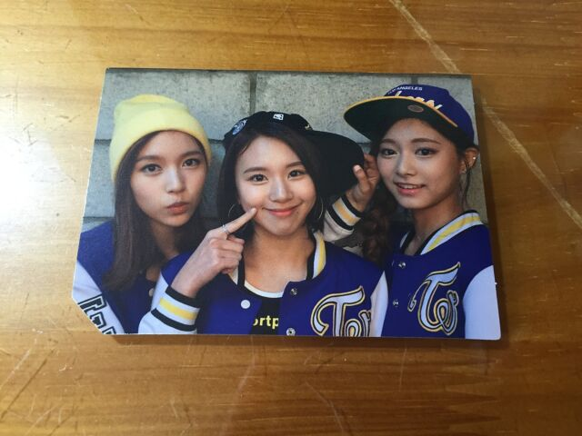 Twice 2nd Album Page Two Cheer up Sana Official Photocard K-pop