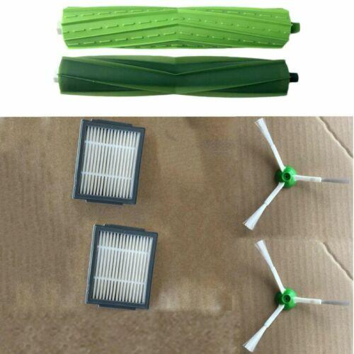 HEPA Filters /& Side /& Roller Brushes For iRobot Roomba i7 E5 E6 Vacuum Assembly