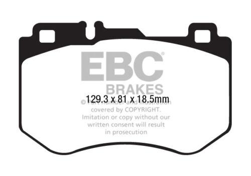 EBC GreenStuff Front Brake Pads for Mercedes C-Class W205 C200 AMG 184 DP22209