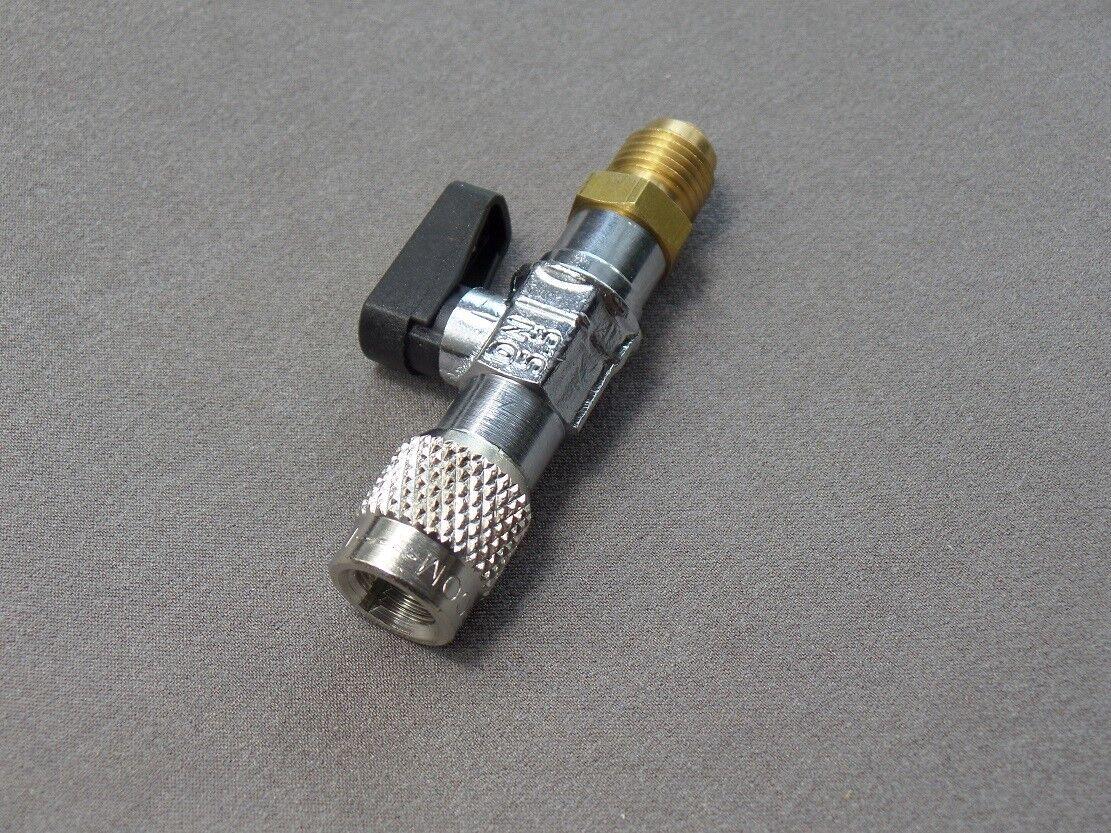 1x Kältemittelventil Absperrventil M1//4 SAE x F1//4 SAE Splitt-Systeme Kühlsystem