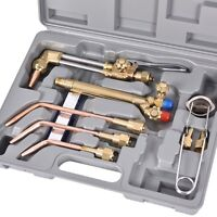 Portable Oxygen Acetylene Welding Cutting Outfit Torch Set Gas Welder Tool Kit