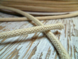 Upholstery-Piping-Cord-4mm-Cotton-Braided-Cord-50-Metres