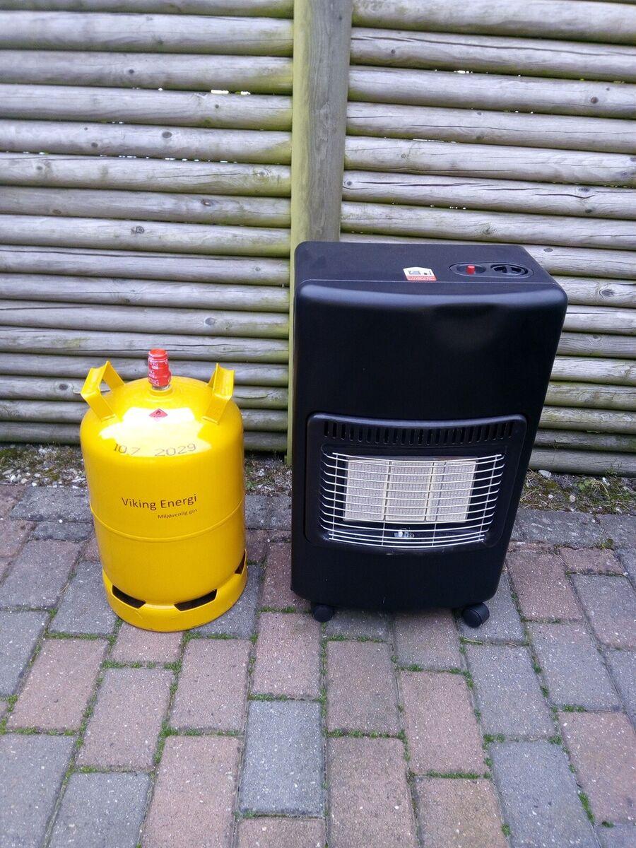 Gas varme ovn incl. 11. kg. gas. Flotte telte.dk