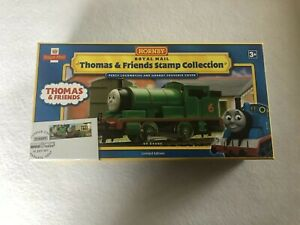 Hornby-R9686-THOMAS-amp-FRIENDS-TRAIN-ROYAL-MAIL-STAMP-COLLECTION-Percy