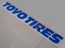 """24"""" 61cm TOYO TIRES windshield decal sticker d1gp drift JDM USDM windscreen t1r"""