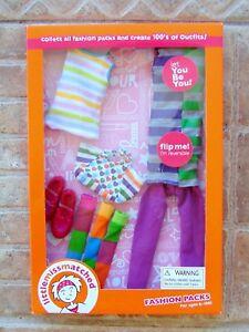 Little-MissMatched-Fashion-Doll-Clothes-Pack-Robert-Tonner-Toys-Dress-Purse-Tank