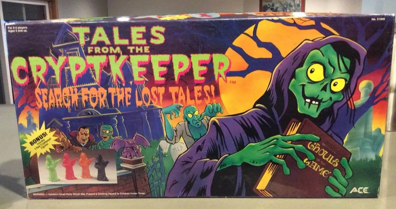 Tales from the Cryptkeeper Search for the Lost Tales ACE Games 1994 Complete
