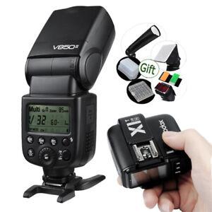 Godox-V850II-Li-Ion-Speedlite-Flash-X1T-Trigger-fr-Canon-Nikon-Sony-Olympus-Fuji