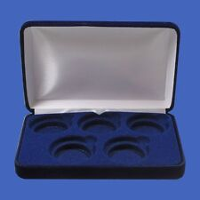 Guardhouse Velvet Display Box for 5 Large Coin Capsules