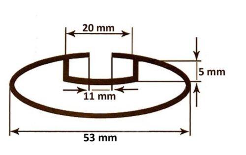 Alu Relingträger VDP L135 Ford Tourneo Courier ab /'13 75kg abschliessbar