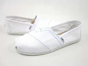 White Shoes Mens Canvas Size 9 Without Box