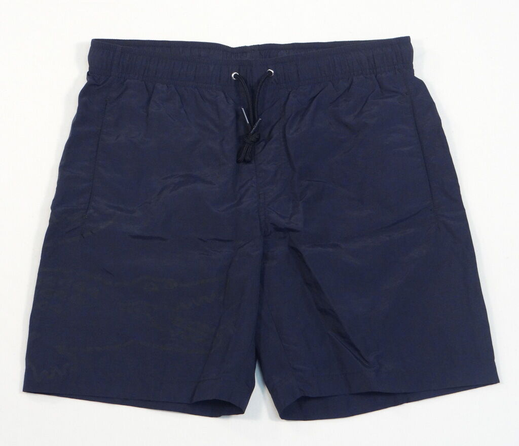 Lacoste Logo Dark bluee Brief Lined Swim Trunks Water Shorts Boardshorts Mens NWT