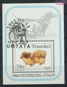 9253084 Fine Used / Cancelle Transkei Block10 complete Issue South Africa