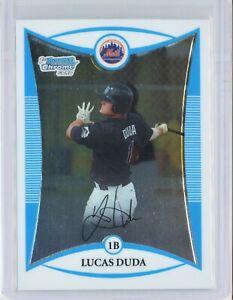 2008-Bowman-Chrome-Prospects-BCP147-Lucas-Duda-RC-Rookie-Mets