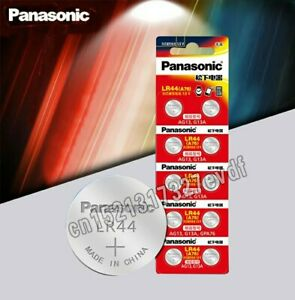 10-x-Panasonic-A76-LR44-AG13-1-5V-Button-Cell-Batteries