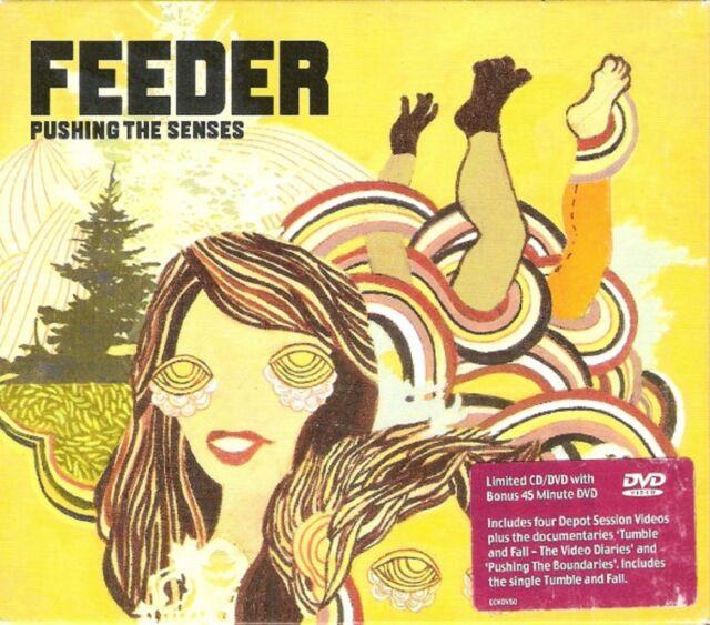 Feeder-Pushing the Senses DOUBLE CD/DVD