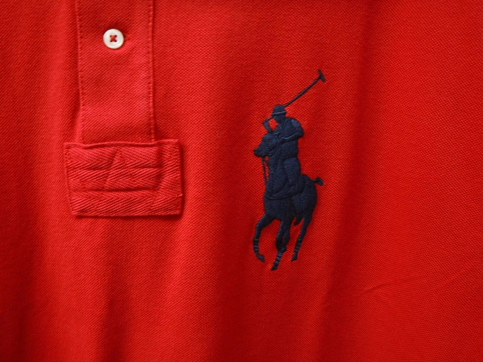 Polo Ralph Lauren Size XXL Red Shirt New Mens Shirts