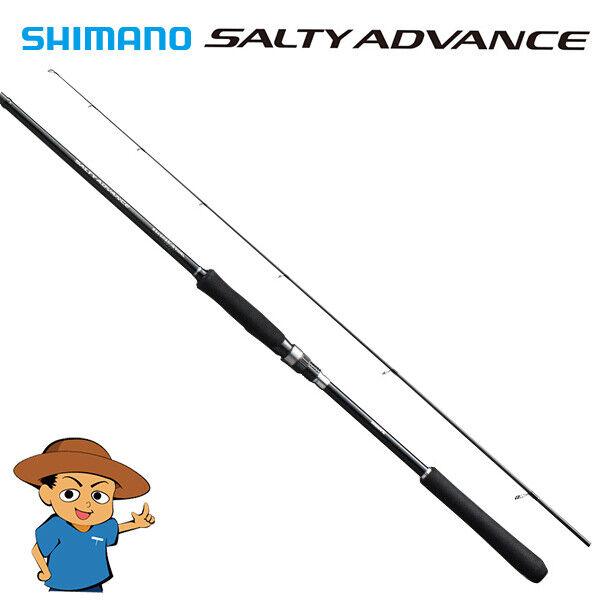 Shimano SALTY ADVANCE KORE JGGING S96MH Media Heavy spinnende hengel