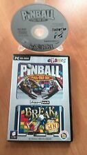 PINBALL DOPPEL PACK FULL-TILT 3D ; BREAK über 500 LEVEL  PC /CD-ROM