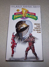 MIGHTY MORPHIN POWER RANGERS ROCKY JUST WANTS TO HAVE FUN VHS ACTION  RATED G