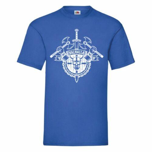 Valhalla Vikings T Shirt Mens Unisex Small-5XL