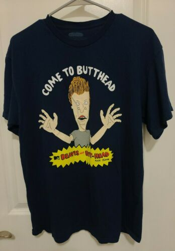 Beavis And Butthead Tshirt Come To Butthead