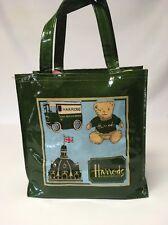 "Harrods Knightsbridge Tote Bag Top-handle Casual Shopper Handbag 10"" Coated"
