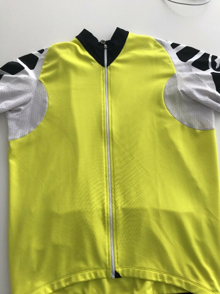 Assos s5.UNO Fluro Fluro s5.UNO Gelb Cycling Jersey XLG in Superb Rarely Used Condition 28cb0b