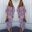 US-Women-Boho-Floral-Long-Maxi-Dress-Evening-Party-Beach-Dresses-Summer-Sundress thumbnail 77
