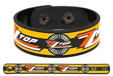 ZZ Top wristband rubber bracelet
