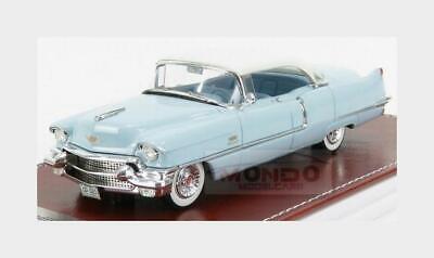 1 43 GIM Matrix Cadillac Sedan de Ville Light Blue White 1956 GIM023A