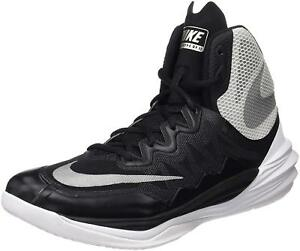 7ce592d7735 Nike Men's Prime Hype DF II Basketball Shoes Black/Silver/White Size ...