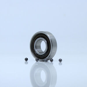 12x28x8 mm ABEC-5 5 PCS 440c Stainless Steel CERAMIC Ball Bearing S6001-2RS