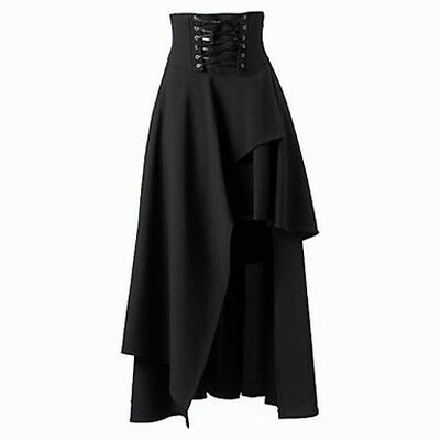 Gothic Lolita Dress Black Vintage Princess Cosplay Costume Fancy Women New