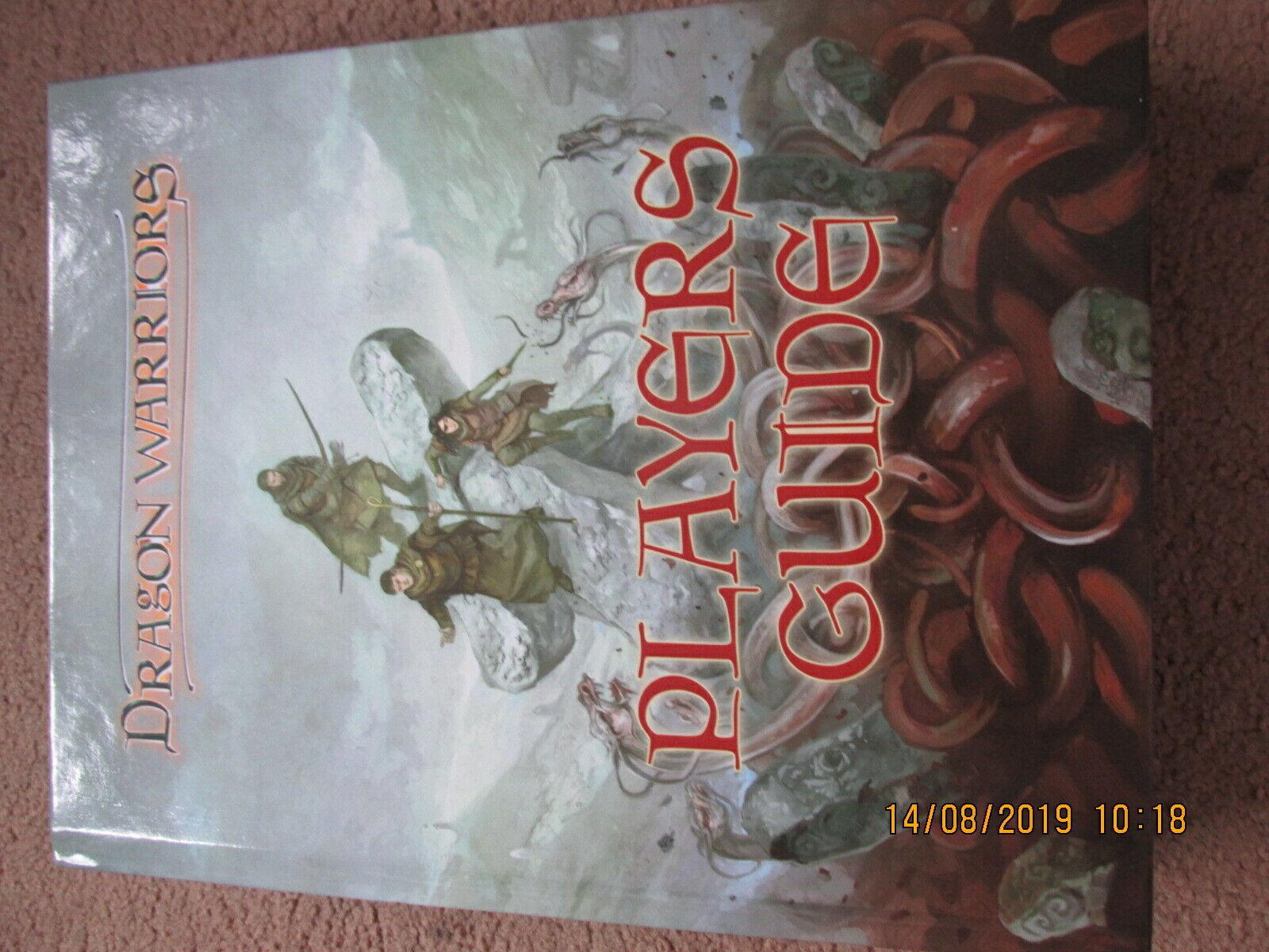 Guía de jugadores de RPG guerreros de dragón fantasía en muy buen estado HB HC