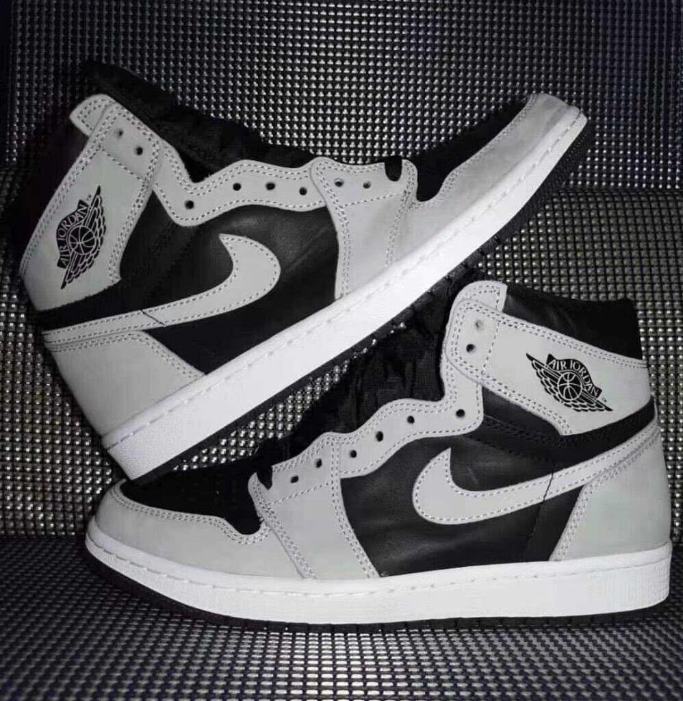 Air Jordan 1 Retro High (Size 12) 555088-035 'Shadow 2.0' Black/Grey **IN HAND** on eBay thumbnail
