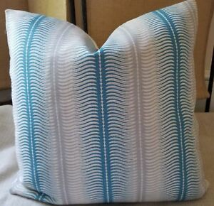 Allegra Hicks Collection Groundworks Belgian Linen Pillow Cover Stripes All Size Ebay
