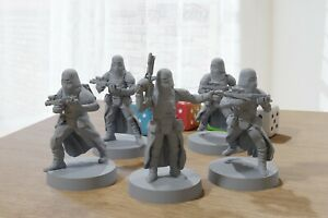 Snowtroopers - Star Wars Legion 35mm Miniature for Tabletop RPG