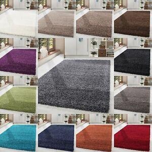 Shaggy-Hochflor-Teppich-Carpet-Farben-und-Groessen-Wohnzimmer-Neu-Top-Angebot
