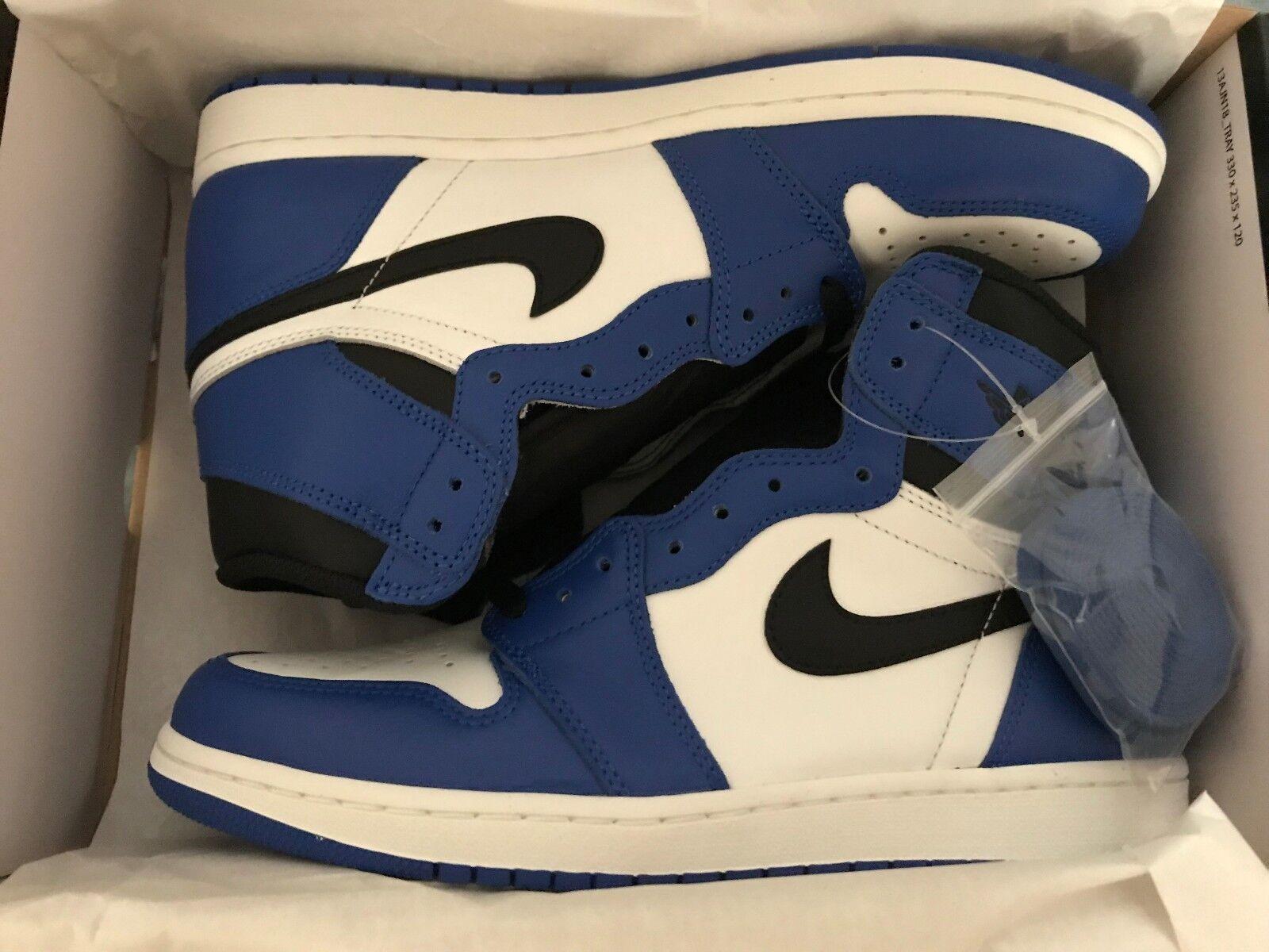 IN HANDS NEW DS Nike Air Jordan 1 Retro High OG Game Royal 555088-403 Size 11
