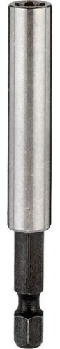 "KWB Inox Bithalter Edelstahlhülse mit Dauermagnet 1//4/"" Sechskant-Aufnahme 58 mm"