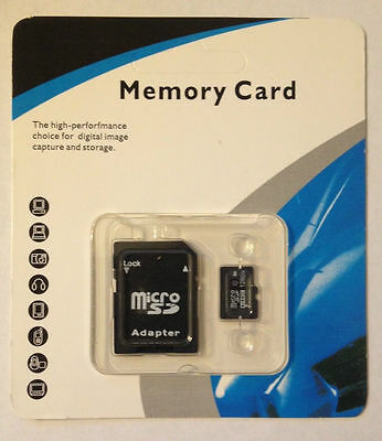 128GB Micro SD Flash Memory SDHC Card w Adapter MicroSD Class 10 - US Seller